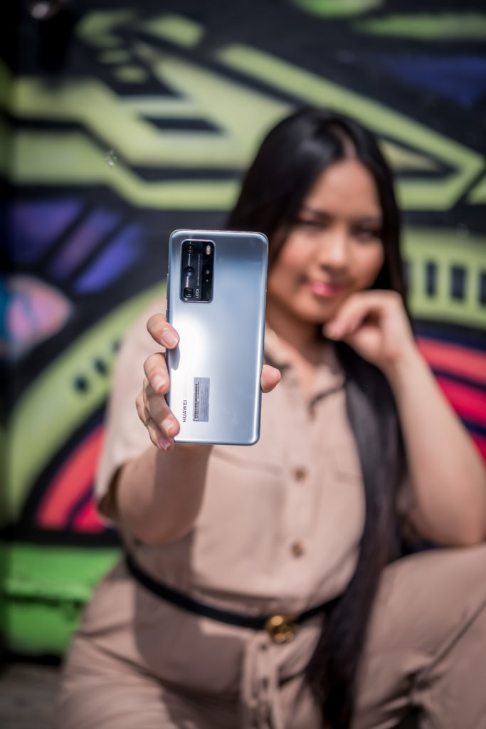 Huawei P 40 Pro, Silver Frost color