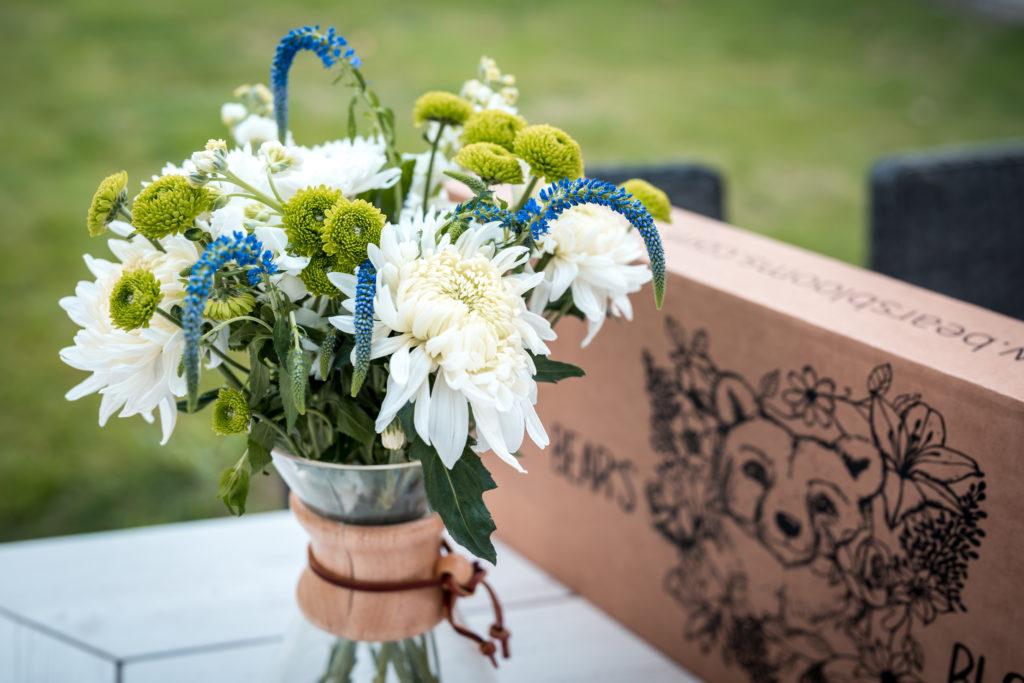 Bears Blooms Flower Bouquet