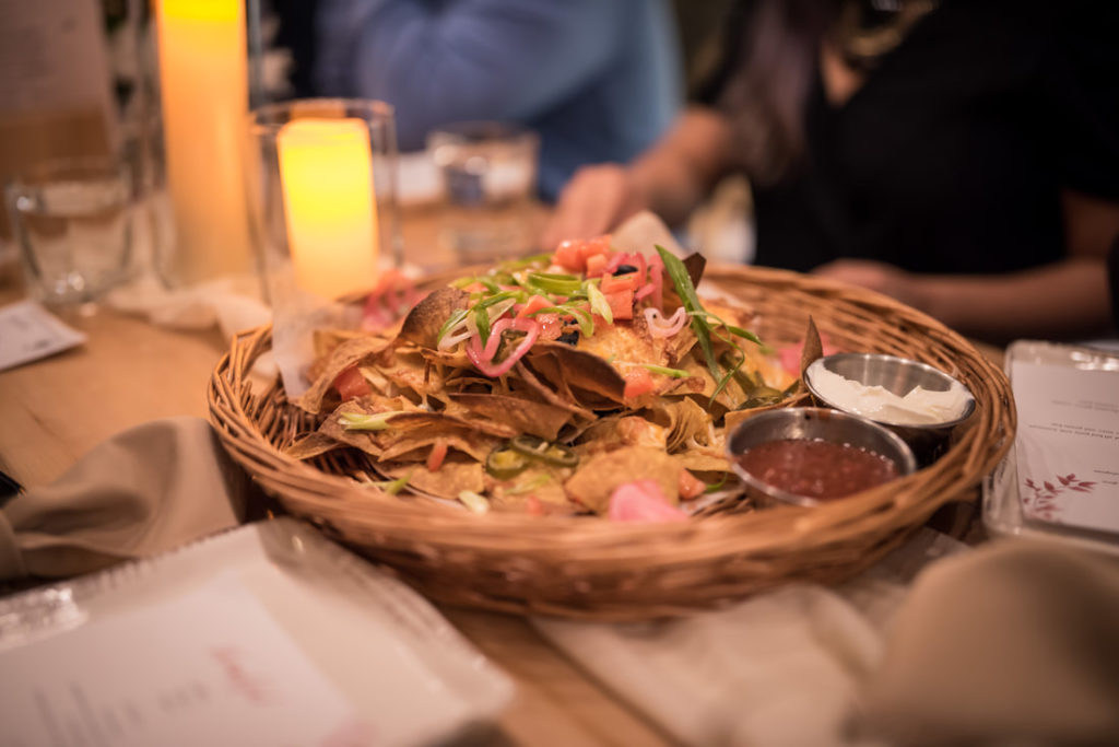 Nachos at Stanley Park Brewing Company with Glamouraspirit