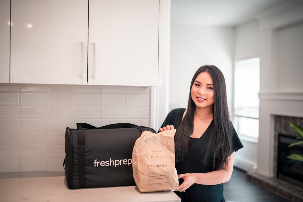 Glamouraspirit with Fresh Prep meal kit to benefit home for dinner fundraiser