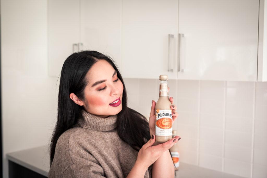 Glamouraspirit with Vodka Mudshake Pumpkin spice latte