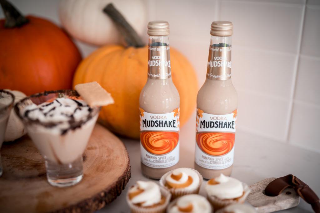 Vodka Mudshake Pumpkin Spice Latte bottle