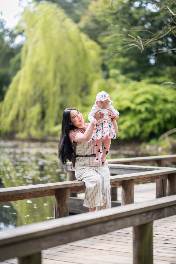 Glamouraspirit vandusen botanical garden with baby